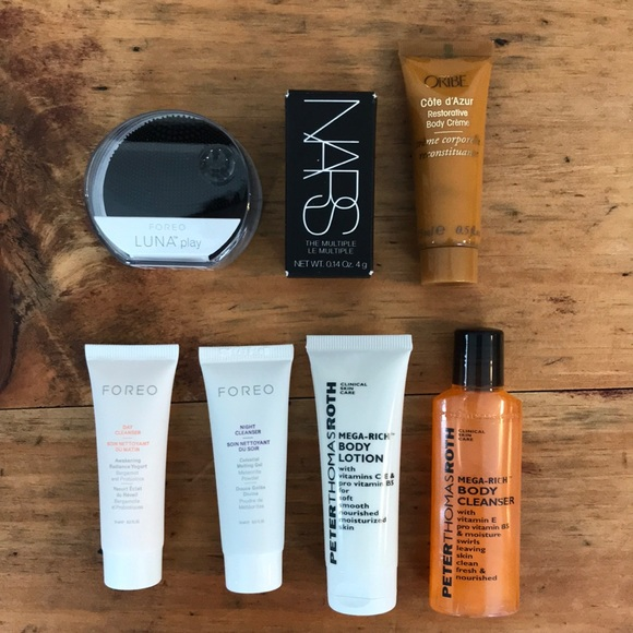 nars, foreo, Oribe, Peter Thomas Roth Other - Foreo Luna Play, NARS, Oribe, Peter Thomas Roth